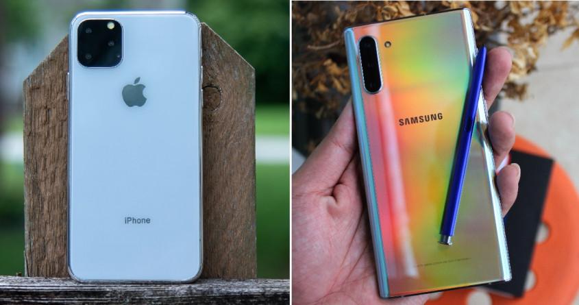 iPhone 11 Pro Max và Galaxy Note 10 Plus là một cặp đối thủ xứng tầm?