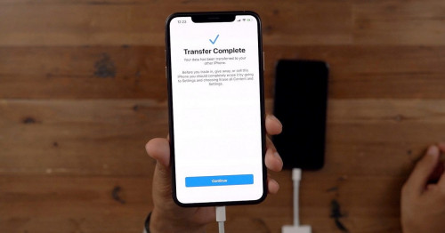Cách chuyển dữ liệu từ iPhone cũ sang iPhone 11 Pro Max mới