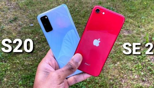 So sánh Galaxy S20 và iPhone SE: Flagship Android cao cấp hay iPhone giá rẻ tốt hơn khi có cùng mức giá