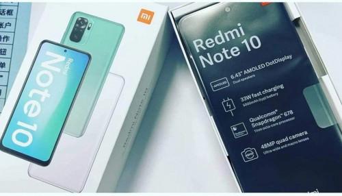 Redmi Note 10 chưa ra mắt nhưng đã lộ diện video mở hộp và trên tay thực tế