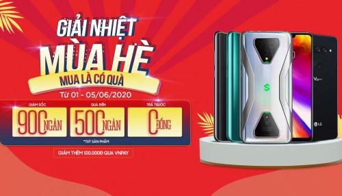 Giải nhiệt mùa hè - Giá ngon, quà chất: Xiaomi Black Shark 3 ưu đãi lên đến 1,3 triệu đồng