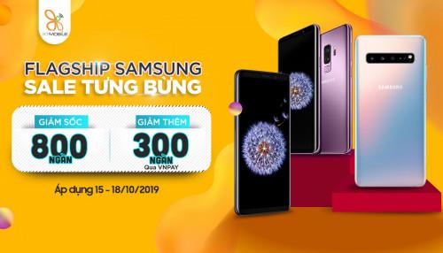 Sale tưng bừng: Giá Galaxy S9, S9 Plus và S10 5G giảm đến 800K