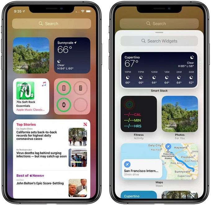Thư viện widget và cách thêm widget vào màn hình chính