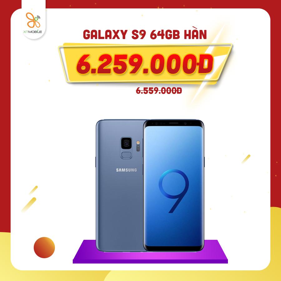 Galaxy S9 64GB Hàn giảm thêm 300K tại XTmobile