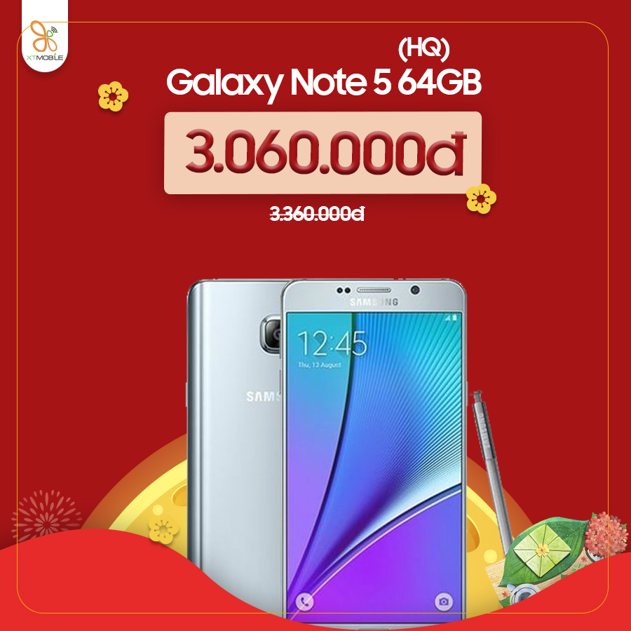 Galaxy Note 5 giảm đến 400.000đ