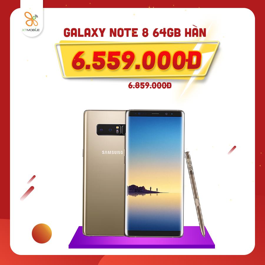Galaxy Note 8 giảm thêm 300k
