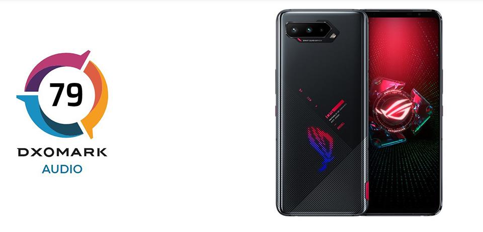 ASUS ROG Phone 5 mặc dù chưa ra mắt nhưng đã dẫn đầu bảng xếp hạng âm thanh của DxOMark