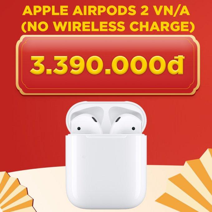 Tai nghe Bluetooth Airpods 2 giá chỉ 3.4 triệu đồng