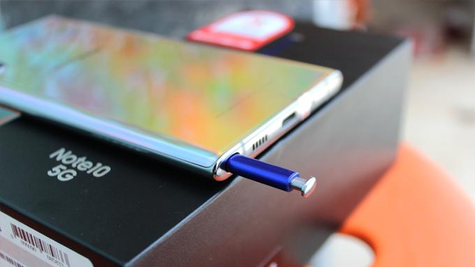 Chiếc bút trên Galaxy Note 10 5G 256GB cũ cực kỳ nhạy