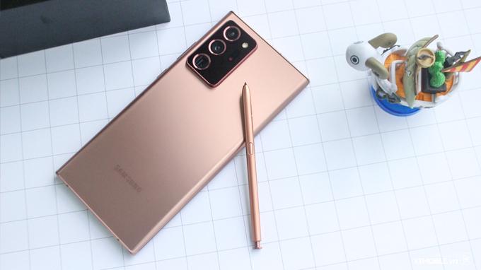 Bút S-Pen trên Galaxy Note 20 Ultra 2 sim thật sự xuất sắc