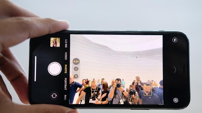 Ứng dụng camera của Apple dễ sử dụng, tối ưu tốt
