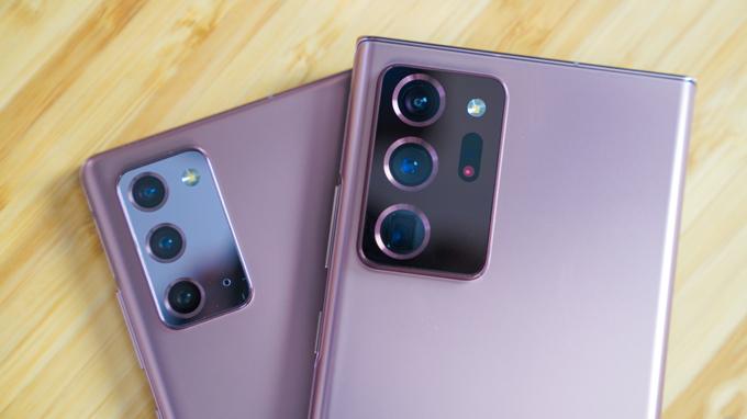 Camera trên Galaxy Note 20 và Galaxy Note 20 Ultra đều được đánh giá cao