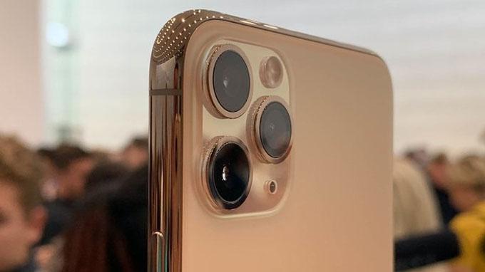 Camera iPhone 11 Pro Max được thiết lập 3 ống kính
