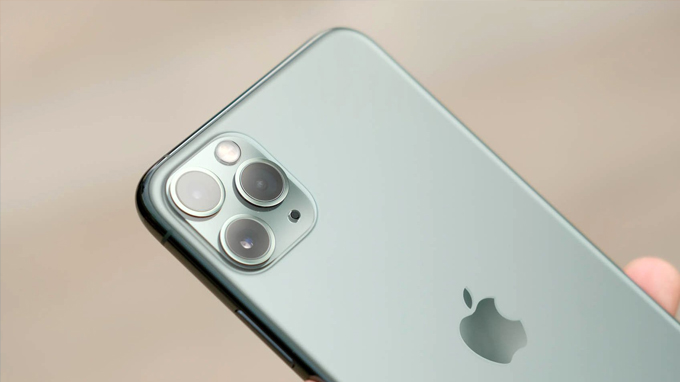 Camera iPhone 11 Pro Max: