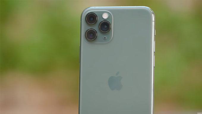 Camera iPhone 11 Pro 64GB được nâng cấp lên 3 ống kính