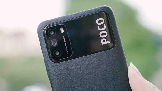 Thiết lập camera Xiaomi Poco M3 64GB được trang bị 3 ống kính