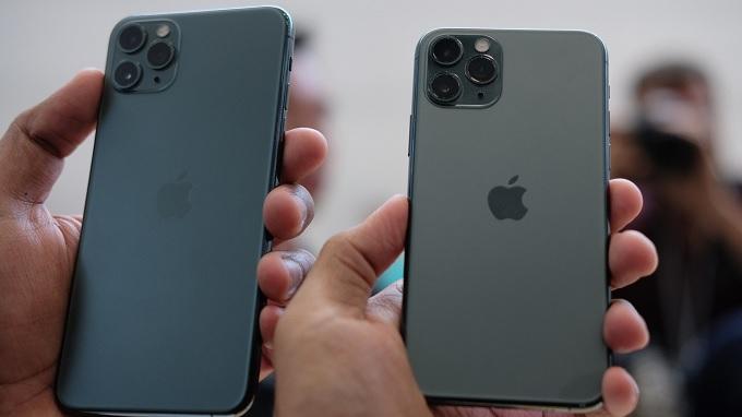 iPhone 11 Pro có kích thước nhỏ gọn
