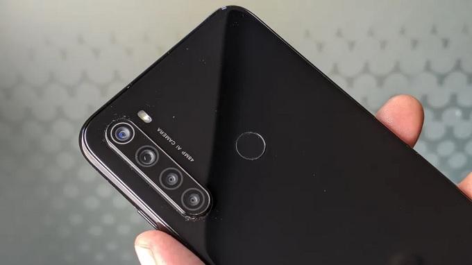 Cụm camera 4 cực khủng trên Redmi Note 8
