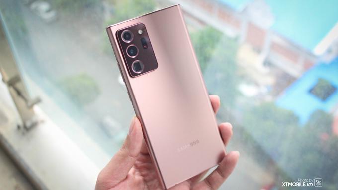 alaxy Note 20 Ultra 5G Hong Kong cũng được trang bị chip xử lý Snapdragom 865+