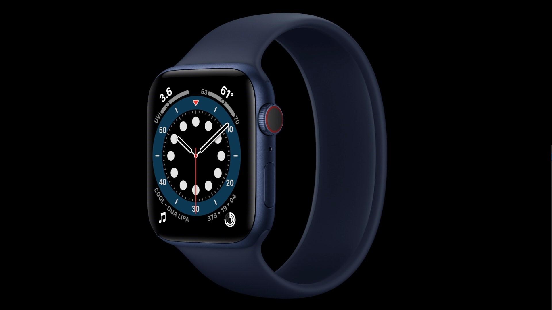 Apple Watch series 6 ra mắt