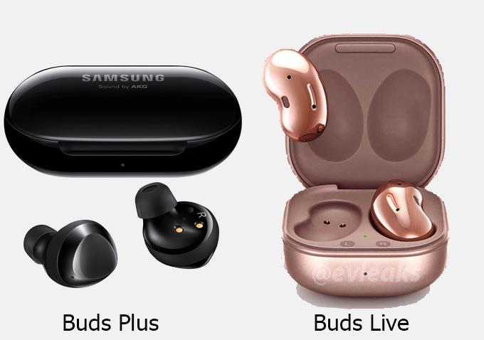 So sánh Galaxy Buds+ và Buds Live