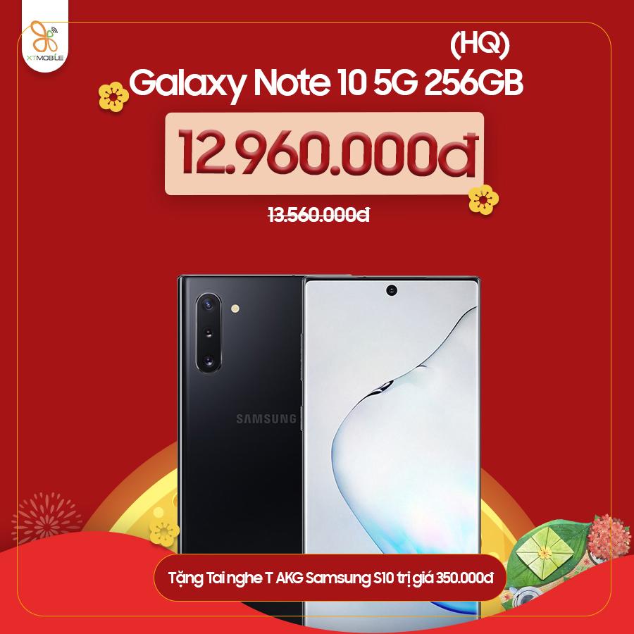 Galaxy Note 10 5G ưu đãi hơn 1 triệu đồng