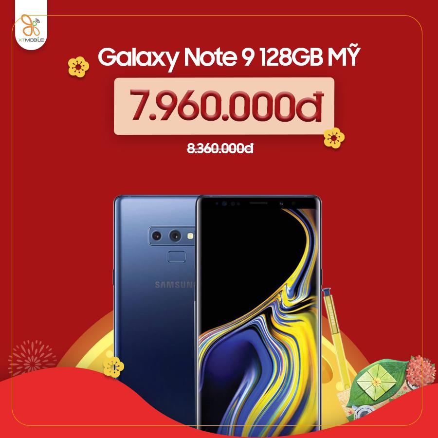 Galaxy Note 9 giảm đến 500.000đ