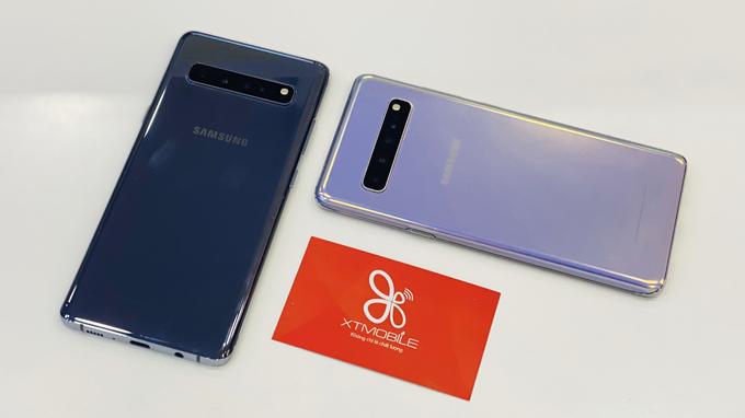 Thiết kế Galaxy S10 5G sang trọng, bóng bẩy