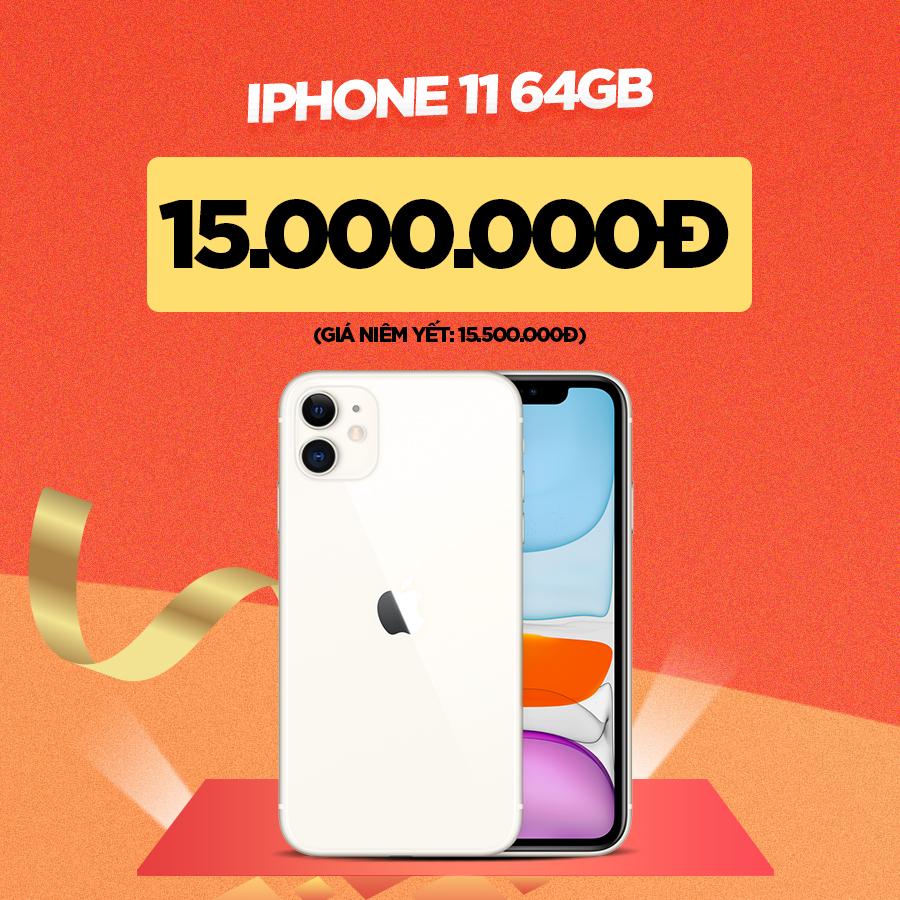 iPhone 11 giảm đến 700.000đ