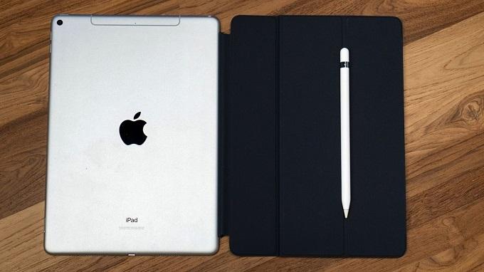 Thiết kế iPad Air 3 64GB Wifi không có nhiều sự thay đổi so với các sản phẩm trước
