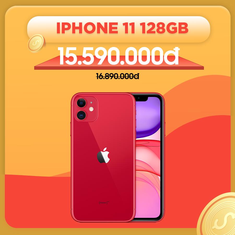 iPhone 11 128GB cũ Quốc tế giảm thêm 1.300.000đ