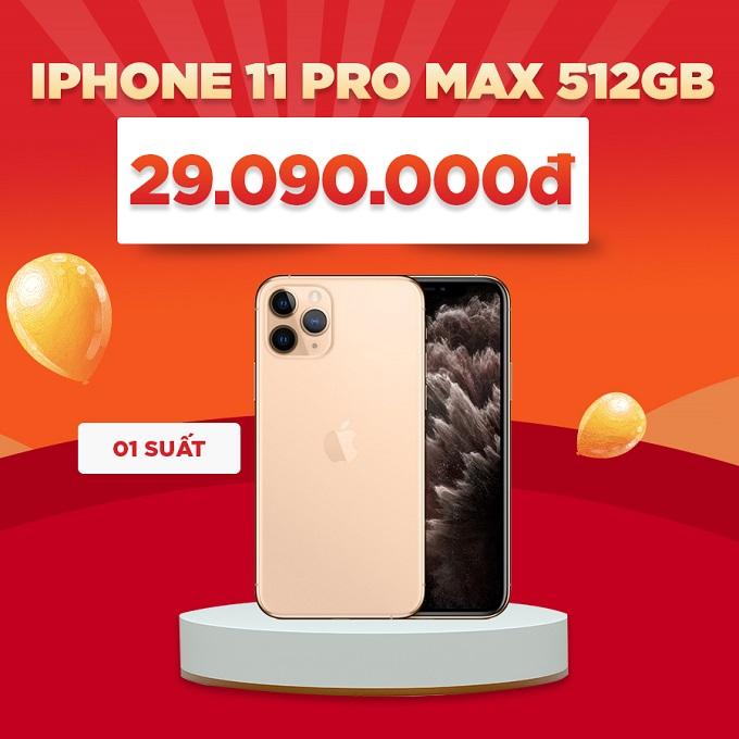iPhone 11 Pro Max giảm đến 2,5 triệu