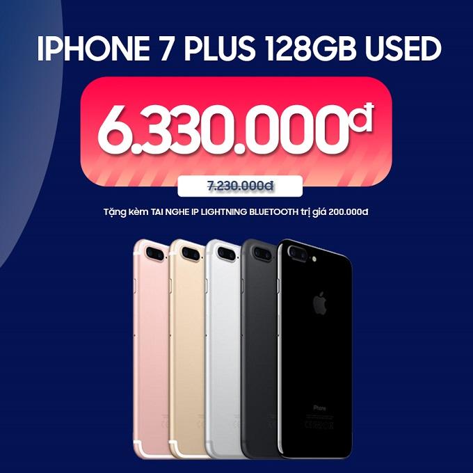 iPhone 7 Plus 128GB ưu đãi đến 1.200.000đ