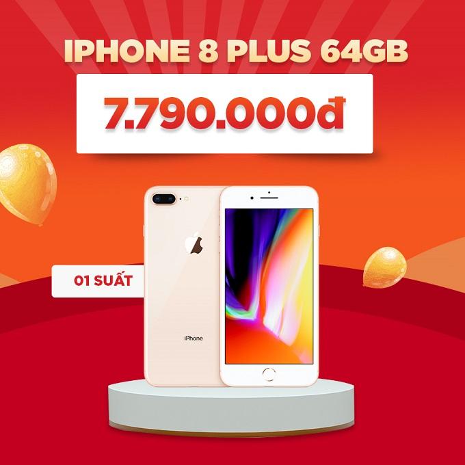 iPhone 8 Plus giảm đến 1,2 triệu
