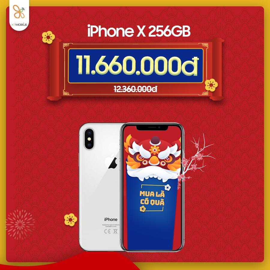 iPhone X ưu đãi đến gần 1 triệu