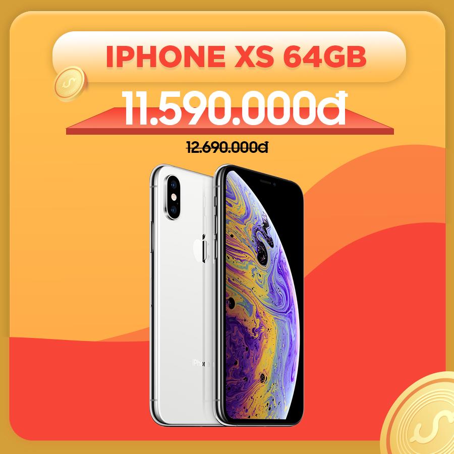 iPhone Xs 64GB cũ Quốc tế giảm thêm 1.100.000đ