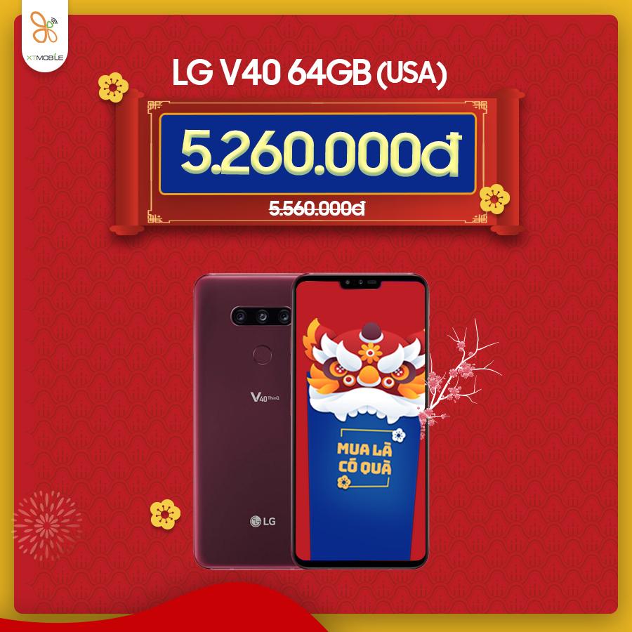 LG V40 ưu đãi đến gần 800.000đ