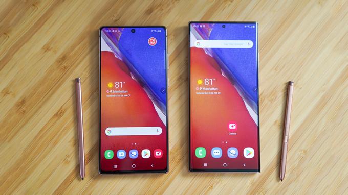 Màn hình Galaxy Note 20 và Galaxy Note 20 Ultra được đánh giá đẹp nhất hiện nay