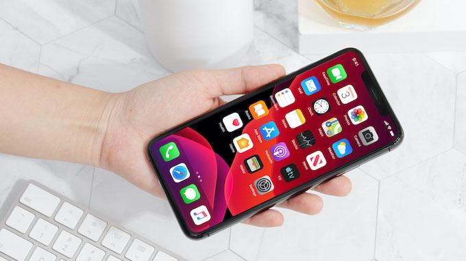 Màn hình iPhone 11 Pro Max được trang kích thước lên đến 6.5 inch