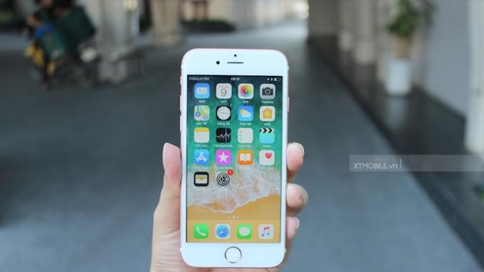 Màn hình iPhone 6s hiển thị sắc nét