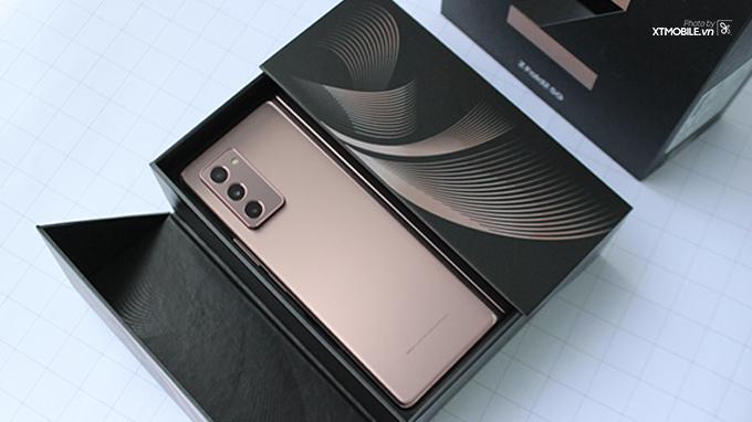 Galaxy Z Fold 2 5G được Samsung nâng cấp nhiều tính năng hấp dẫn
