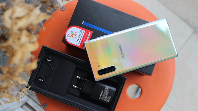 Samsung Note 10 5G đồng hành cùng viên pin có dung lượng 3.500mAh