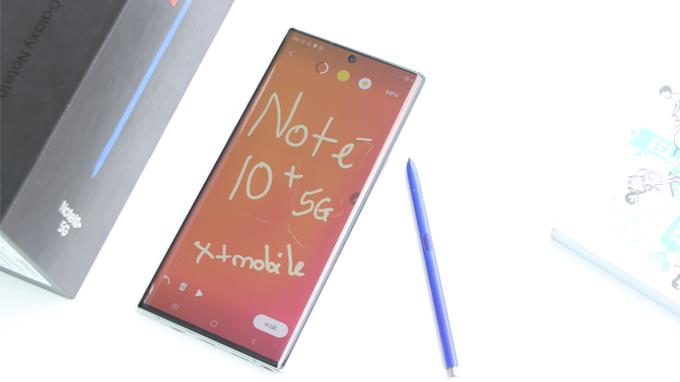 Galaxy Note 10 Plus 5G 256GB cũ còn sở hữu dung lượng pin lớn lên đến 4.300mAh