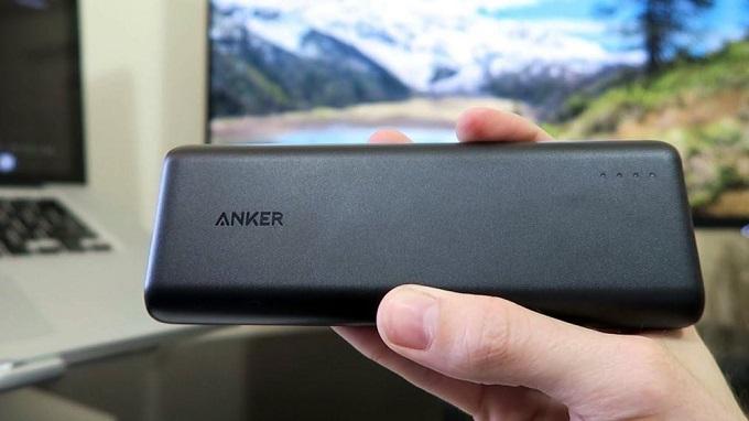 Pin dự phòng Anker một trong những thương hiệu cao cấp đến từ Mỹ
