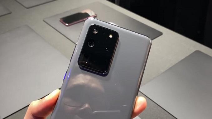 Galaxy S20 Ultra sẽ có cảm biến MP cực cao
