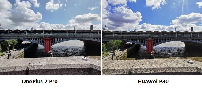 Ảnh chụp bầu trời với Huawei P30 thực sự ấn tượng, OnePlus 7 Pro nhiều chi tiết