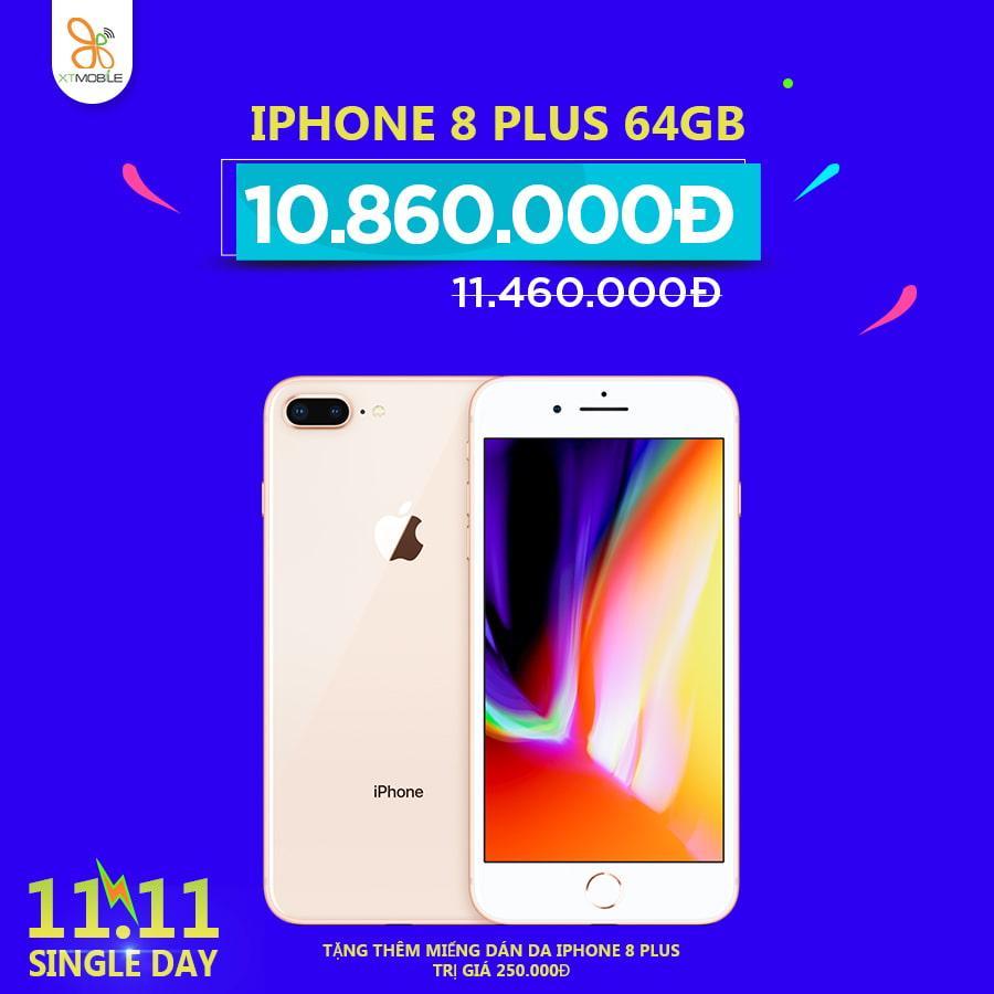 Điện thoại iPhone 8 Plus 64GB giảm giá