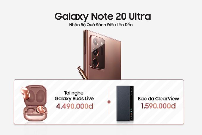 Bộ quà đặt trước Note 20 Ultra