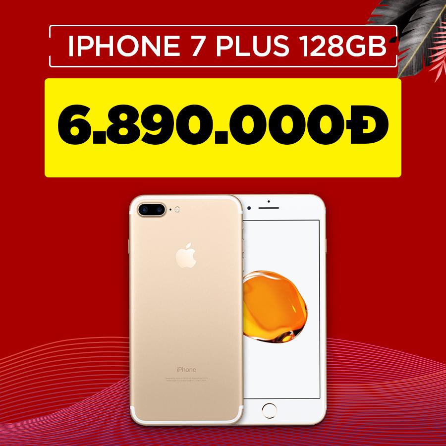 iPhone 7 Plus 128GB cũ Quốc tế giảm thêm 700.000đ