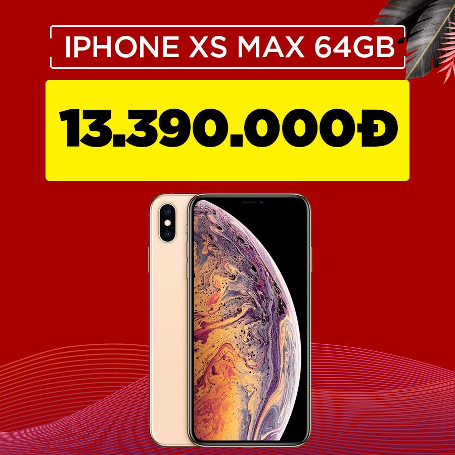 iPhone Xs Max 64GB cũ Quốc tế giảm thêm 1.2 triệu